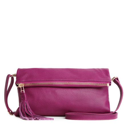 Large Anna Clutch Prince | Women's Leather Shoulder Bags | Roots