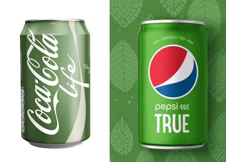 Coca Cola vs Pepsi Continua la storica guerra tra Coca Cola e Pepsi. Entrambi i colossi hanno lanciato due bibite light: poche le differenze, anche nel packaging