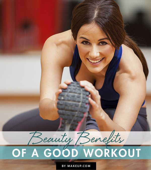 Working out is great for many reasons, including all these beauty benefits! Check out what a good workout can do for your beauty regimen.