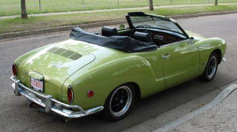 Green Karmann Ghia