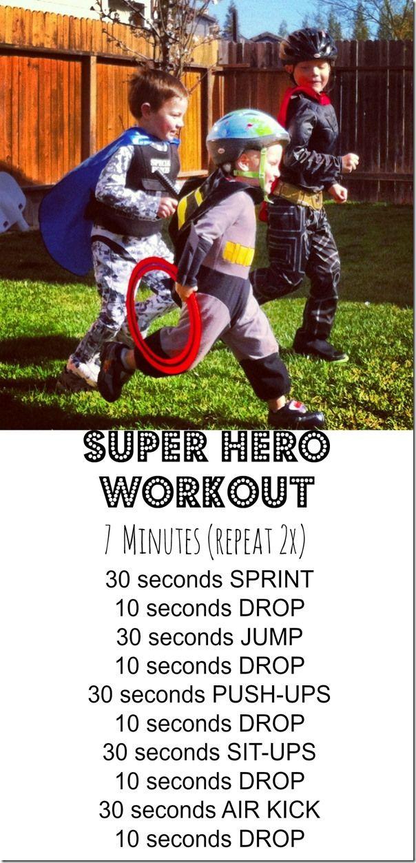 Super hero workout