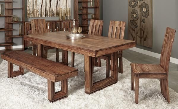 7 Pc Dining Room Set Dining Table Dining Room Remodel Furniture