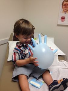 """""""Spontaneous Fun While Waiting for the Doc"""" -Shani Thornton uses her child life skills to help her kids get through an unexpected visit to urgent care. Child Life Mommy Blog"""