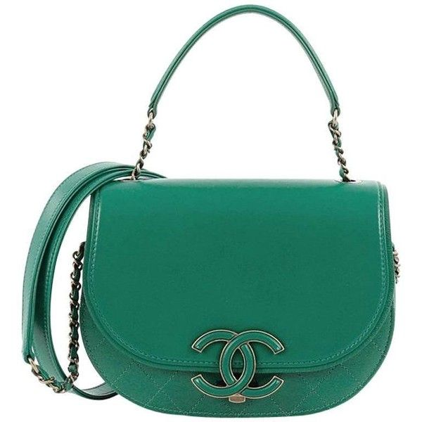 Preowned Chanel Coco Curve Top Handle Bag Goatskin Small ($2,630) ❤ liked on Polyvore featuring bags, messenger bags, blue, blue bag, zipper messenger bag, chanel messenger bag, woven bag and zip messenger bag