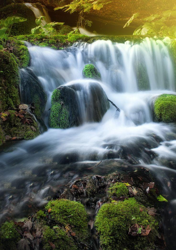 Autumn Waterfall pt.2 by Kinga Sorbán on 500px