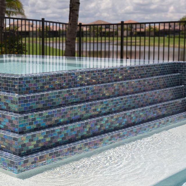 Equinox In Black Steel Pool Designs Black Steel Pool