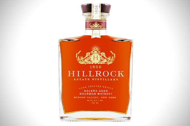 Hillrock Estate Distillery Solera Aged Bourbon Whiskey ....if these come in mini bottles :)