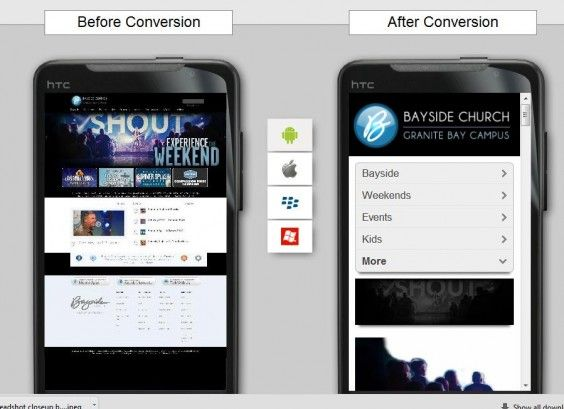 Not Ready for a Church App? Make Sure Your Site is Mobile-Friendly