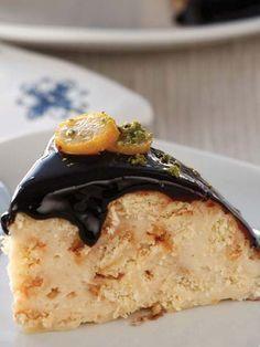 Soslu kubbe pasta Tarifi - Tatlı Tarifleri Yemekleri - Yemek Tarifleri
