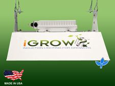 iGrow Induction Lighting 48in 400w System w/ Bloom Lamp