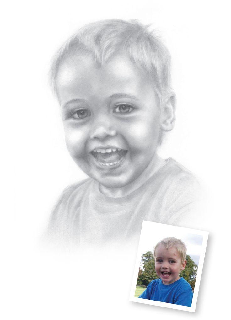 Pencil Portrait of Alec