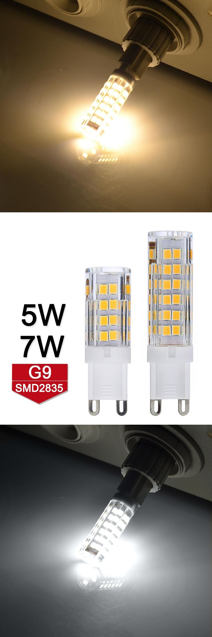 High Quality Mini G9 LED Lamp 5W 7W 220V LED Bulb SMD2835 Bombillas LED G9 Light Crystal Chandelier Replace Halogen Lamps