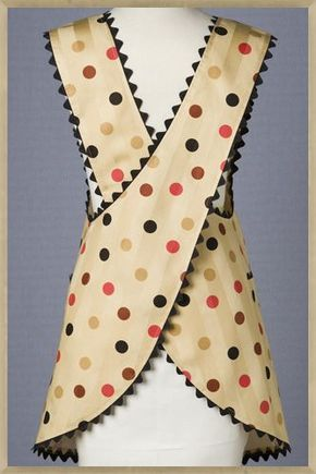 1950s Polka Cafe apron - love this look, need to dig out my pattern and make some aprons up.