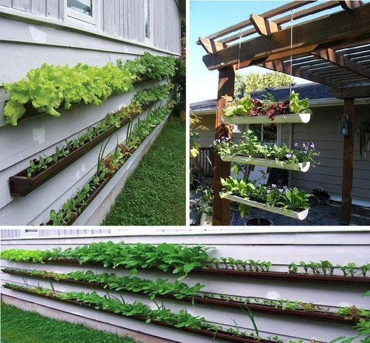 Short on garden space, but longing for your own vegie patch? What about this clever project?  Easily accomplished in a weekend, the planter boxes are made from recycled guttering. Rust patches for drain holes, a bit of potting mix and some seedlings and you can have an instant garden.  Lettuce, herbs, strawberries or even some potted colour. The choice is yours.