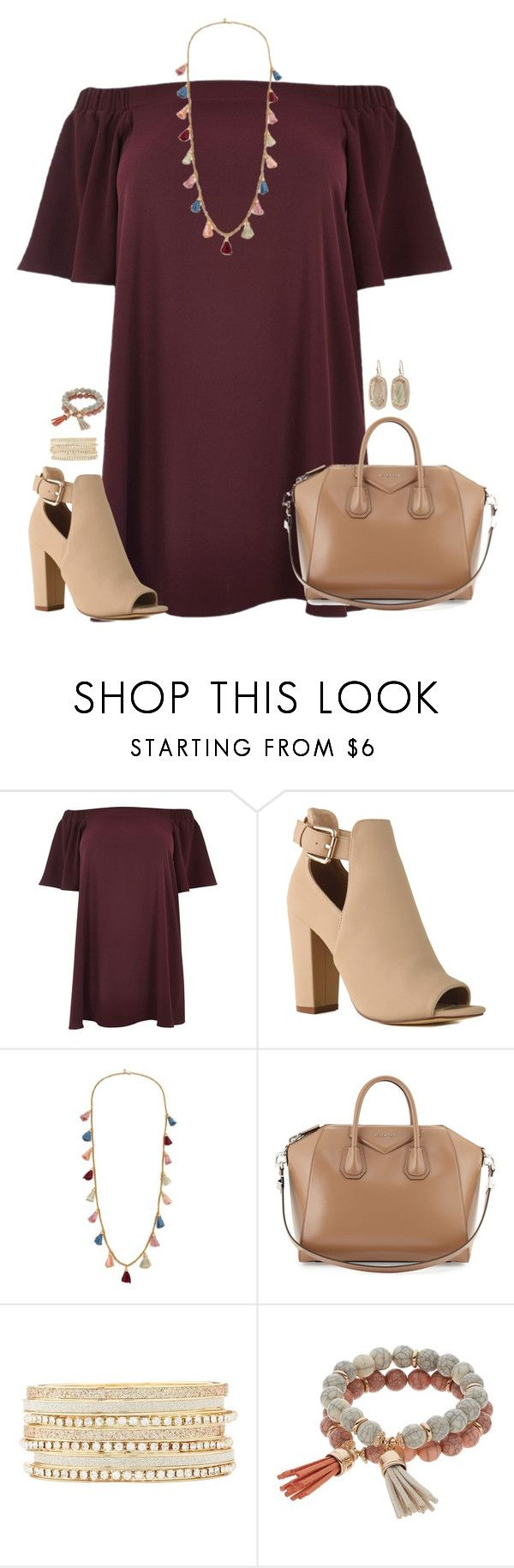 """❣︎"" by kaley-ii ❤ liked on Polyvore featuring River Island, Ben-Amun, Givenchy, Charlotte Russe, Coco Lane, Kendra Scott and plus size dresses"