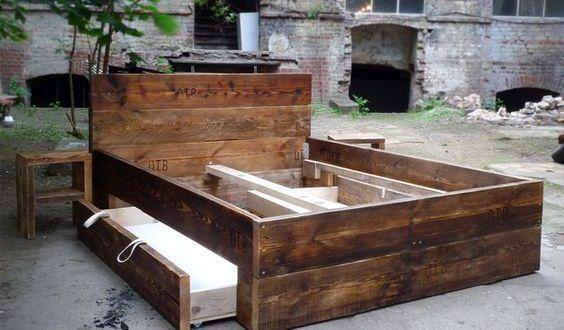 1000 ideen zu bett selber bauen auf pinterest bett selber bauen ideen selbst bauen bett und. Black Bedroom Furniture Sets. Home Design Ideas