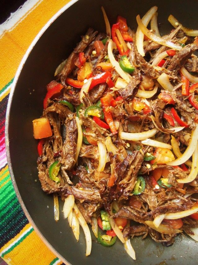 Beef Machaca | Hispanic Kitchen