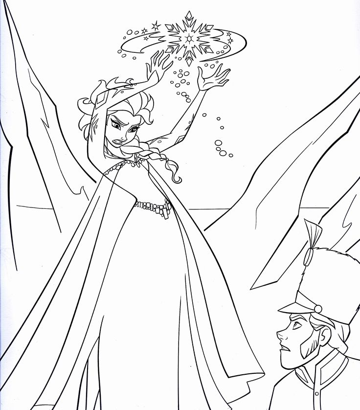 Games Disney Frozen Coloring Pages