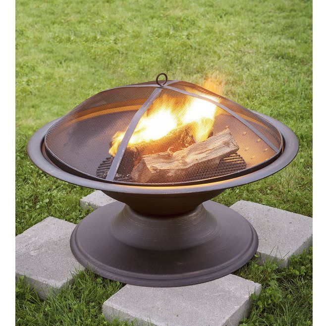 Shop Garden Treasures  29.5-in Round Wood-Burning Fire Pit at Lowe's Canada. Find our selection of fire pits at the lowest price guaranteed with price match + 10% off.