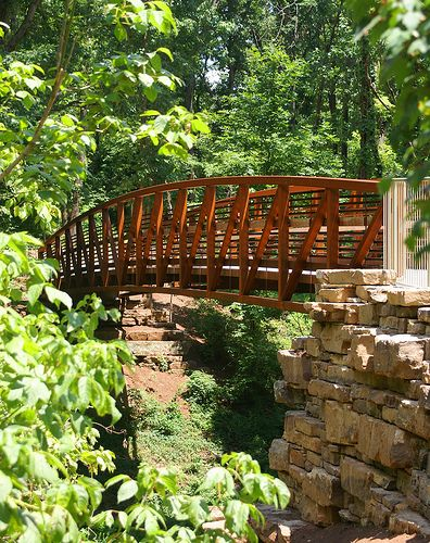 Bentonville, Arkansas - Trail from Compton Gardens to Crystal Bridges
