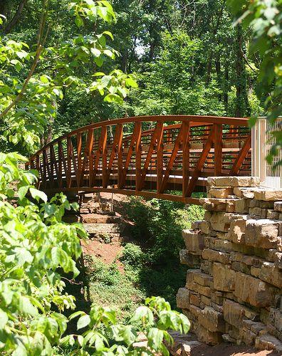 Bentonville, Arkansas - Trail from Compton Gardens to Crystal Bridges