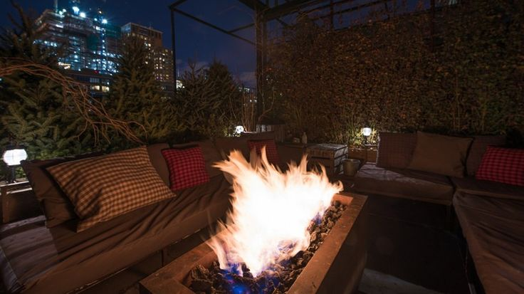 NYC: Cozy up at the Lodge at Gallow Green for a night like no other. The bar on the rooftop of the McKittrick Hotel is now a cabin, complete with fireplaces, rockers and warm drinks that will heat up the night.