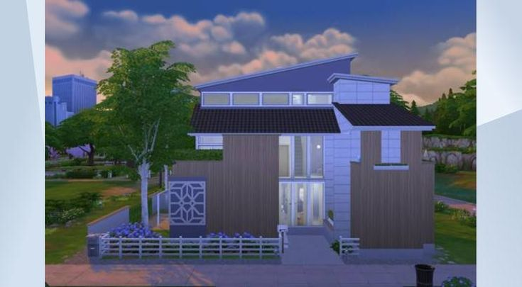 Tsekkaa tämä tontti The Sims 4 Galleriassa! - Here's a new house again. I added hastag noCC, cause I dont use custom content in my builds. Just to let you know. Hope you like Modernism Lane 8! Check out more pictures at whatasimhouse.blogspot.com                                                          #modern #whatasimhouse #garden #patio #sauna #furnished #residential #home #house #pool #familyhome #gym #yoga #noCC