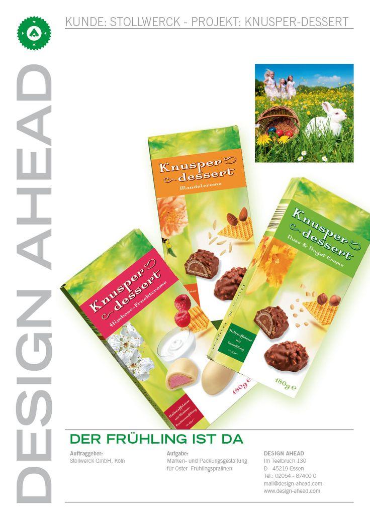 Packaging Design Saisonartikel Frühling