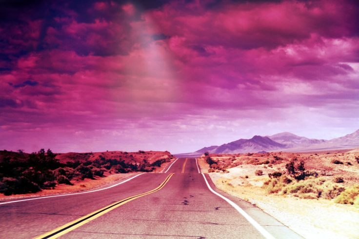 the pink highway. . .