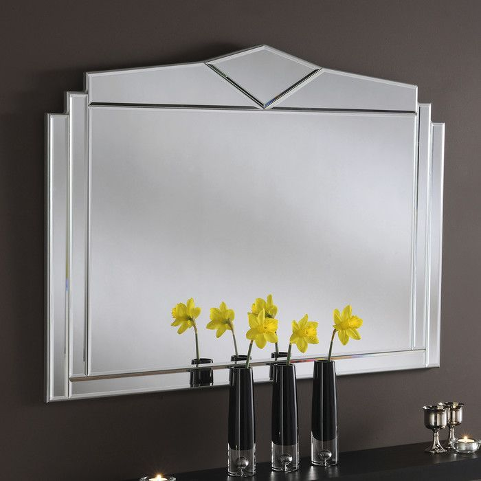 Yearn Mirrors Art Deco Accent Mirror & Reviews | Wayfair UK 76x109