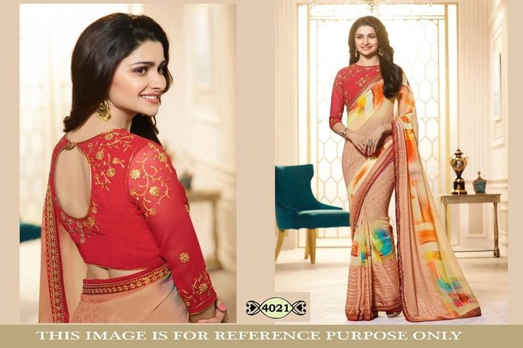 wedding saree printed sari party wear bollywood style georgette special sarees #krishacreation