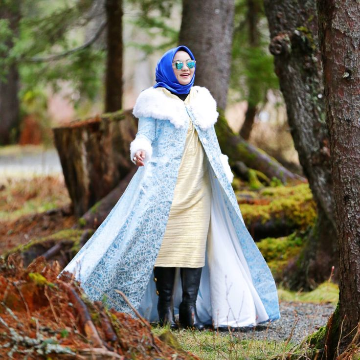 Hijab Style for Winter