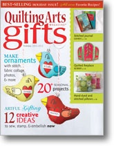 We put a bird on the cover of Quilting Arts Gifts 2011/2012 special issue: Crafts Ideas, Gifts Ideas, Books Worth, Diy Gifts, Art Magazines, Birds Ornaments, Quilts Art, Art Gifts, Sewing Magazines