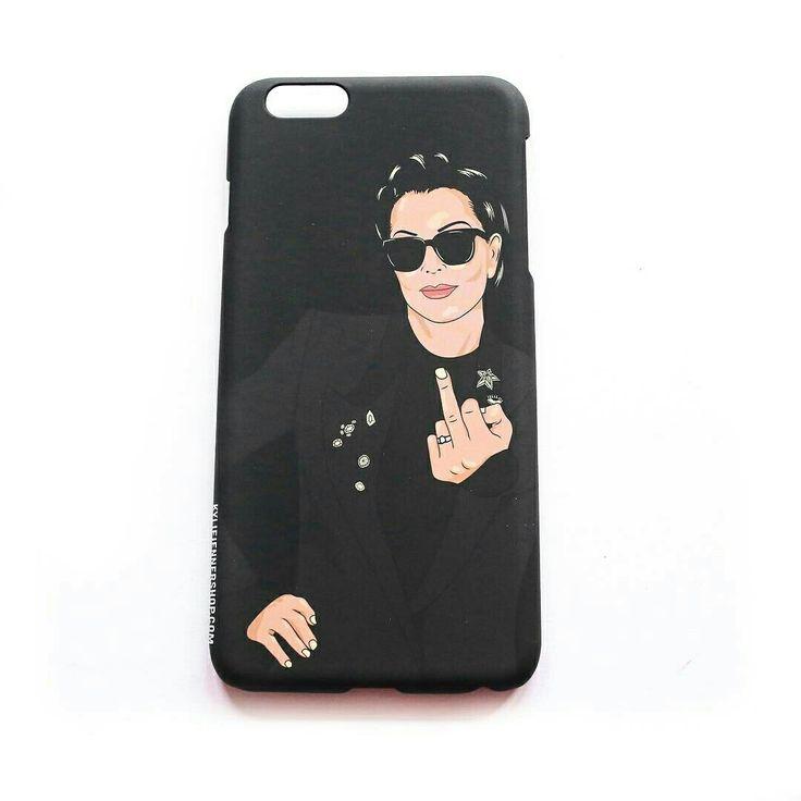 Kris Jenner Flip Off iPhone Case   The Kylie Jenner Shop