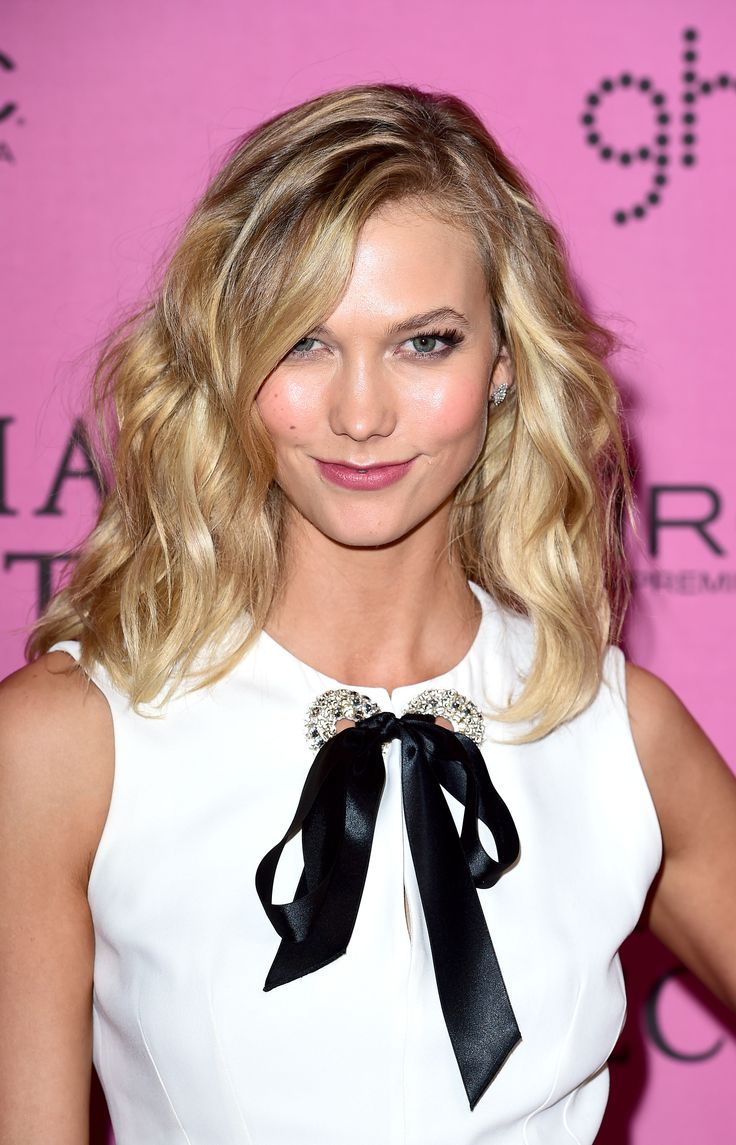Karlie Kloss at the 2014 Victoria's Secret Fashion Show after-party. http://beautyeditor.ca/2014/12/05/victorias-secret-after-party-2014
