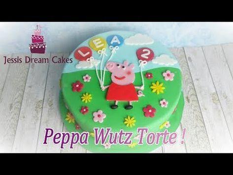 Peppa Wutz Torte / einfache Anfängertorte / Kindergeburtstagstorte / How to mak…