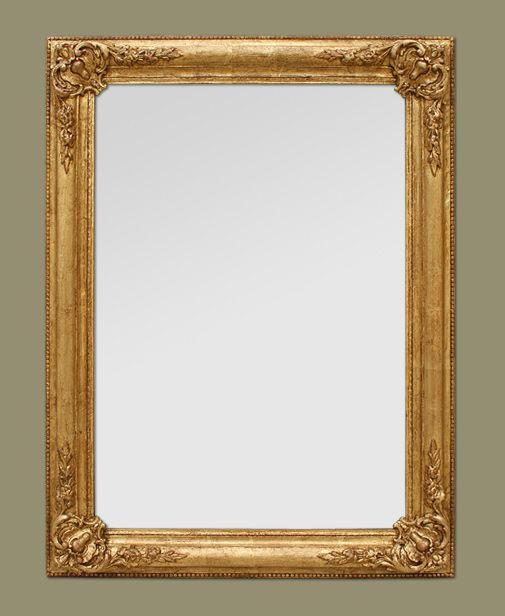 1000 id es sur le th me miroirs de coquilles sur pinterest for Glace miroir sans cadre