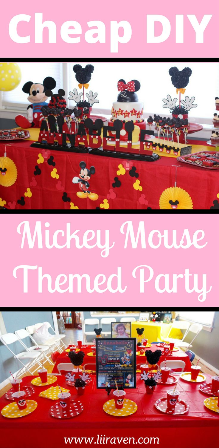 Mickey Mouse Birthday Aidans Mickey Mouse Clubhouse First