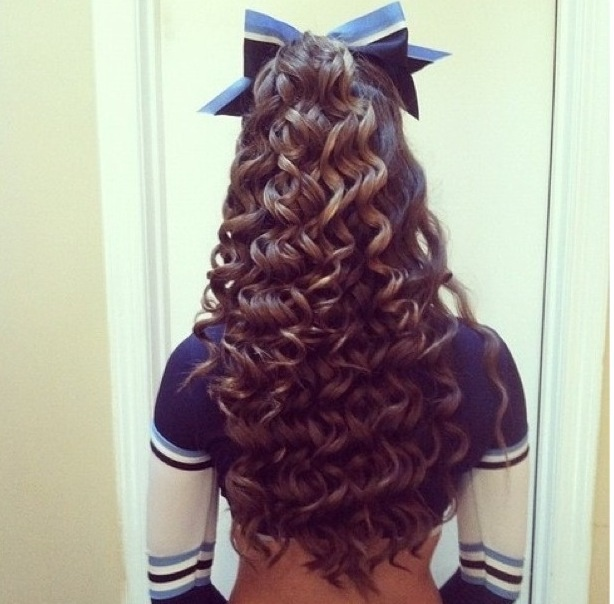 11 Best Hairstyles For Cheerleaders! Images On Pinterest