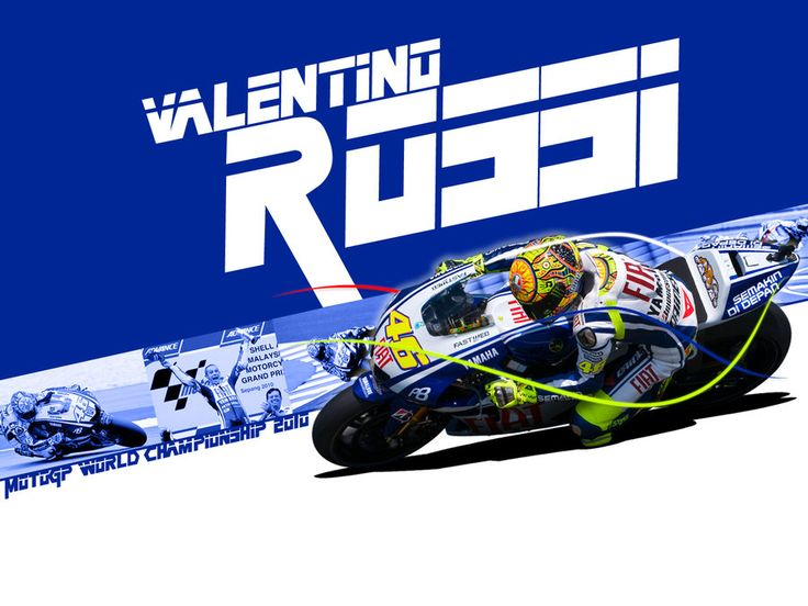 Valentino Rossi - MotoGP 2010 by EvanDeCiren.deviantart.com on @DeviantArt
