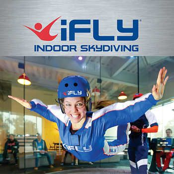 iFly Indoor Skydiving 2 Flights eCertificate