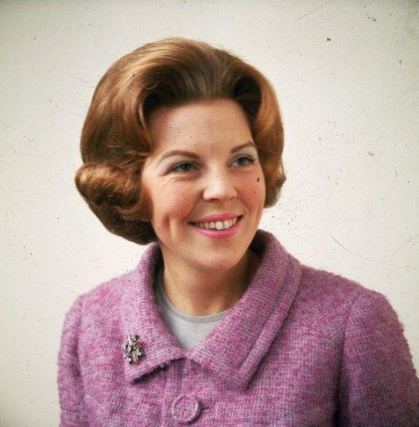 Prinses Beatrix 27 jaar.