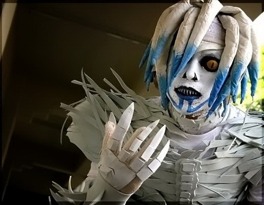 """""""Rem (Shinigami) - Death Note #cosplays"""" And WHAT a cosplay this is! Good detail."""