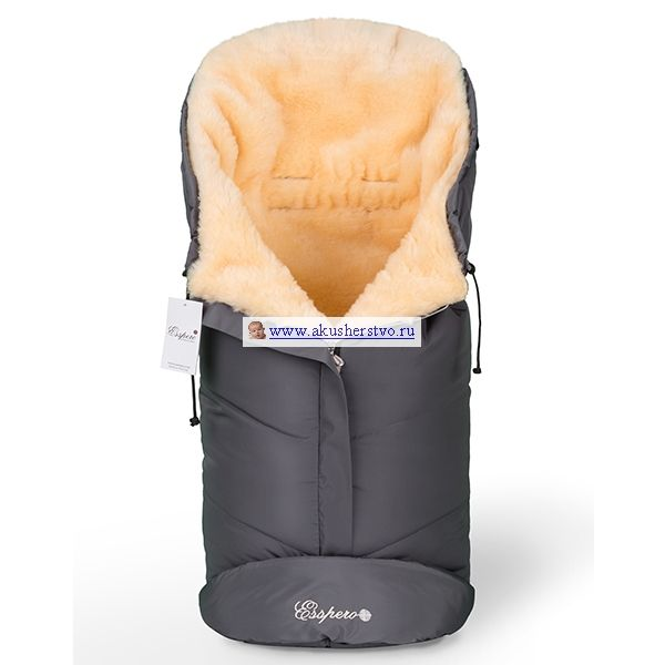 Зимний конверт Esspero Sleeping Bag - Grey