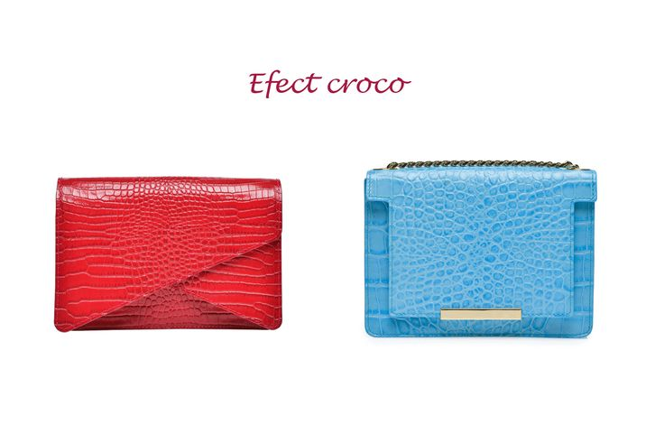 Effect Croco Bags@Wild Inga#order 0721.331.269 #leatherbags#red#blue#elegance#style#fashion#