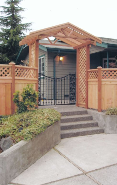 17 Best Images About Cedar Wooden Fence On Pinterest