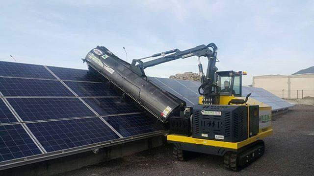 Mazaka Solar Panel Cleaning Machine Www Mazaka Eu Solarpower Https Www Linkedin Com Feed Update Urn Li Activity 6427585599984 Solar Solar Farm Solar Power
