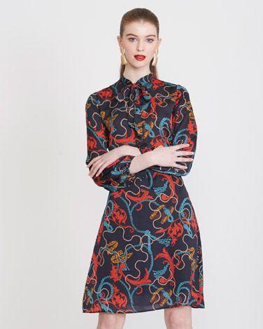 4396502d97dd3 Savida Scarf Print Dress | Dunnes Stores | Pinterest