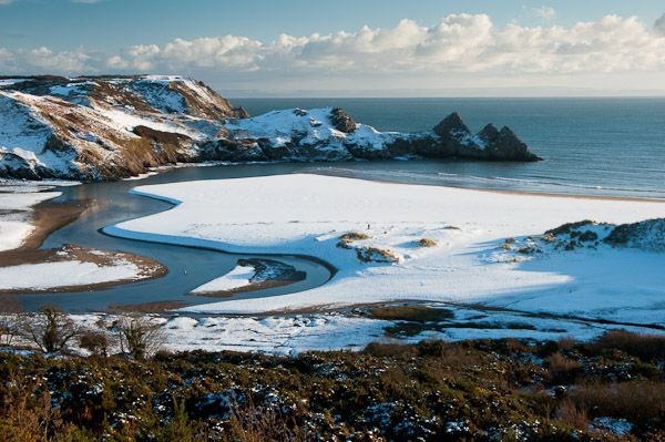 Snow in Gower