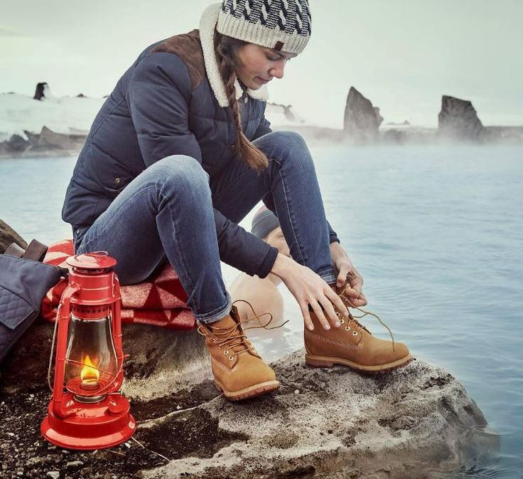 Keep your feet dry with #TIMBERLAND boots!
